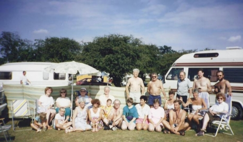1991 2) DCCC August Bank Holiday - Burton Constable Caravan & Camping Park (Sproatley, near Hull, East Riding of Yorkshire)